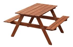 Kidkraft Outdoor Picnic Table by Amazon Com Maxim Wooden Kids Picnic Table With Benches