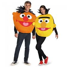 Bert Ernie Halloween Costume Ernie Sandwich Board Unisex Disguise