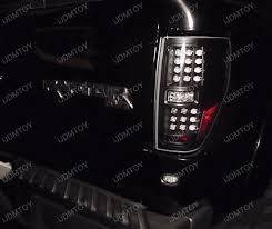 2012 ford f150 tail lights 09 12 ford f150 chrome housing smoke lens led tail lights