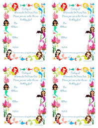 pickled okra by charlie mermaid bithday party invitations free