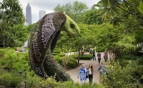 Atlanta Botanical Garden Atlanta Ga Fantastical Living Plant Sculptures To At The Atlanta