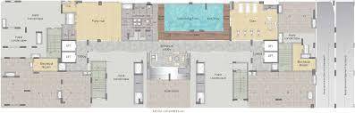 floor plan for gym prestige msr in sanjay nagar bangalore price location map