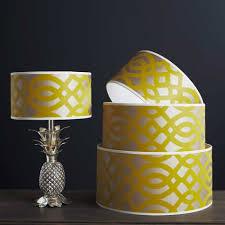 lighting shallow drum lamp shades rectangular lamp shades