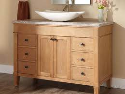 Walnut Bathroom Vanity by Bathroom Vanity Bathroom Vanity With Vessel Sink L Walnut