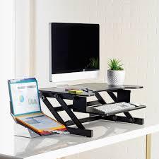 lorell 81974 adjustable desk monitor riser 50 lb load capacity