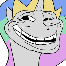 Troll Face Know Your Meme - trollestia molestia tyrant celestia know your meme