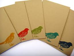 greeting cards set small gift idea for ready to ship blank