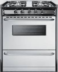 Slide In Gas Cooktop Summit Tnm21027bfrwy 30 Inch Slide In Gas Range With 3 7 Cu Ft