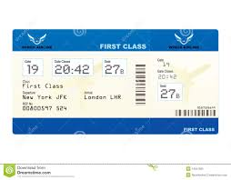 plane ticket stock vector image of destination board 14641303