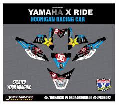 hoonigan racing logo modifikasi striping motor xride hoonigan joehansb decal graphic