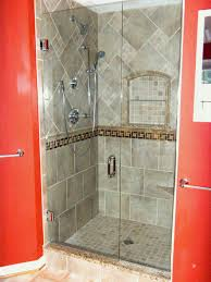 showers ideas small bathrooms chic ceramic tile shower ideas small bathrooms with glossy nuance