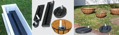 self watering conversion kit planter reservoir windowbox com