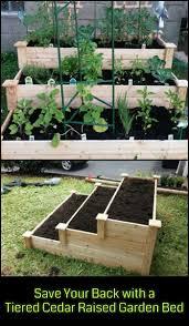 raised herb garden home outdoor decoration
