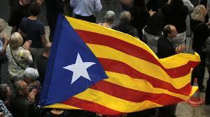 Picture Of Spain Flag Gespalten Katalanische Separatisten Ziehen Nicht Geeint In