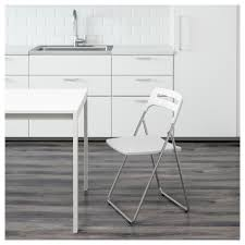 Table Ikea Blanche Ikea Table Top Ironing Board Nisse Folding Chair High Gloss White Chrome Plated Ikea