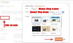 cara membuat blog yang gratis cara membuat blog gratis di blogger digital areas