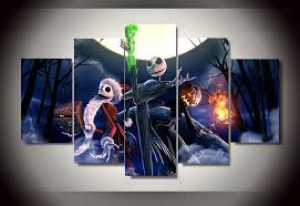 The Nightmare Before Christmas Home Decor Online Get Cheap Canvas Christmas Art Aliexpress Com Alibaba Group