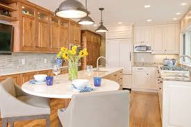blending kitchen cabinet styles and finishes crystal kitchen bath