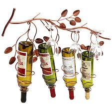 industrial look pipes wine rack decorative racks for wall decor