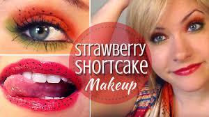 cute strawberry shortcake inspired makeup tutorial youtube