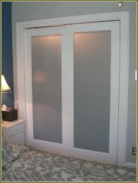 Frosted Glass Closet Sliding Doors Create A New Look For Your Room With These Closet Door Ideas