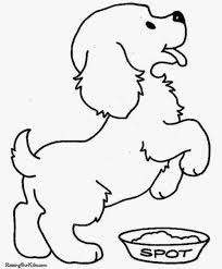 coloring pictures of puppies and kittens free coloring pages on