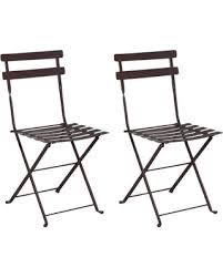 Metal Folding Bistro Chairs Don T Miss This Bargain Mobel Designhaus Café Bistro
