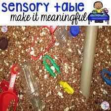 sensory table fillers tools pocket of preschool