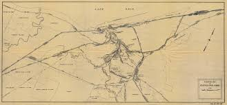 New York Central Railroad Map by Cleveland Rr Maps