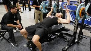 Combine Bench Press Record Nhl Combine Fitness Test Primer
