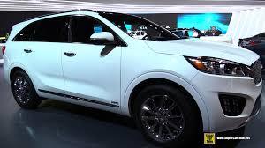 Kia Sorento 2015 Interior 2016 Kia Sorento Sxl Awd Exterior And Interior Walkaround 2015