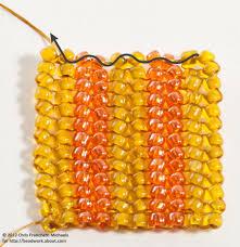 how to do herringbone stitch beading