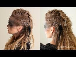 viking warrior hair viking warrior halloween hairstyle missy sue youtube
