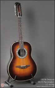 1978 ovation 1615 pacemaker 12 string u003e guitars 12 string