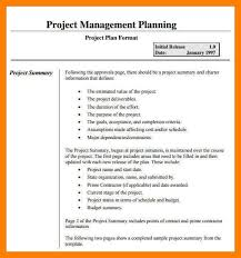 project management plan template 11 project management plan