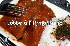 lotte al armoricaine recette cuisine lotte à l armoricaine autour de ma table