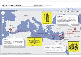 Direction Map Jonah Map Visual Unit