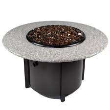 Granite Fire Pit by Cast World Tretco Venice Iii 42 Inch Granite Fire Pit Table Fp