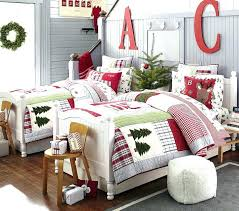 Pottery Barn Comforters Pottery Barn Always Has Cute Christmas Bedding For Children