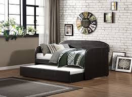 Pull Out Daybed Amazon Com Homelegance 4950 Daybed With Trundle Dark Brown Bi