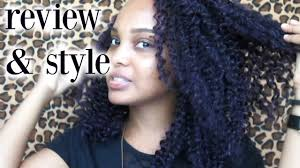 bohemian human braiding hair kima braid bohemian curl style and review youtube