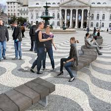 stone benches circle exterior benches from streetlife architonic