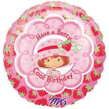 strawberry shortcake party supplies strawberry shortcake berry birthday foil balloon party