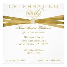 15 best 90th birthday invitation template images on pinterest