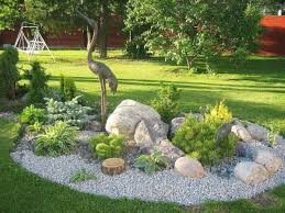 Small Rock Garden Images Backyard Easy Landscaping Ideas For Front Of House Landscaping