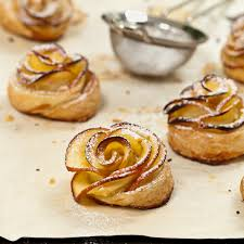 puff sheets apple roses recipe with puff pastry sheets eggless by