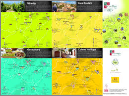 The Villages Map Cyprus Village Community Council Of Omodos List Of Cities Towns