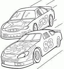 coloring pages race cars coloring