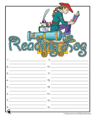 explorer reading log to print woo jr kids activities