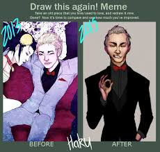 Before And After Meme - before and after meme haku by the lost visionary on deviantart